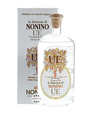 Grappa Nonino: ÙE La Malvasia I Vigneti Monovitigno - Acquavite d'Uva Trauben-Brand / 38 % vol. / 0,7 Liter-Flasche im Geschenk-Karton