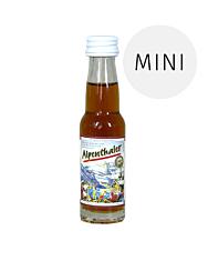 Prinz: Alpenthaler Kräuterlikör Miniaturflasche / 20,5% Vol. / 0,02 Liter - Flasche