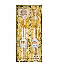 Prinz Geschenk-Set Die traditionellen Zwei - Prinz Williams-Schnaps & Marillen-Schnaps / 40 % vol. / 2 x 0,5 Liter-Flasche in Geschenk-Box