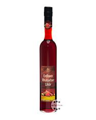 Prinz: Erdbeer-Rhabarber-Likör / 17 % Vol. / 0,5 Liter - Flasche