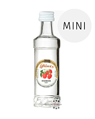 Prinz: Himbeer-Schnaps Miniatur / 40 % Vol. / 0,04 Liter-Flasche