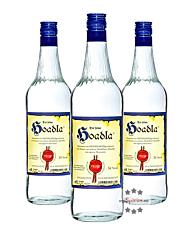 Prinz: Hoadla - fruchtig milder Heidelbeer-Schnaps / 34 % Vol. / 3 x 1,0 Liter - Flasche