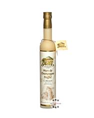 Prinz: Marc de Champagne Trüffel Likör - Cream-Likör / 15% Vol. / 0,5 Liter - Flasche