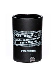 Prinz: Nobilant Stamperl Glas / 2 & 4 cl Eichstriche / ca. 50 ml / Ø ca. 4,5 cm / H: ca. 6,5 cm