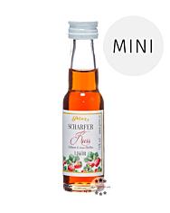 Prinz: Scharfer Kuss Likör Miniatur / 16 % Vol. / 0,02 Liter-Flasche