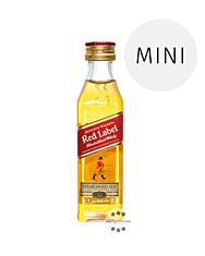 Johnnie Walker Red Label / 40 % Vol. / 0,05 Liter-PET-Flasche