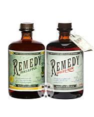Remedy Set mit Spiced & Pineapple / 40 – 41,5 % Vol. / 2 x 0,7 Liter-Flasche