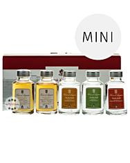 Rossi d'Angera: Confezione Le 5 Grappe - Miniaturenpaket / 40 & 42 % Vol. / 5 x 0,1 Liter-Flasche