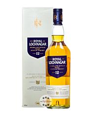 Royal Lochnagar 12 Jahre Highland Single Malt Scotch Whisky / 40 % Vol. / 0,7 Liter-Flasche in GP