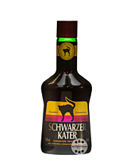 Schwarzer Kater Fruchtlikör Johannisbeere / 22 % Vol. / 0,5 Liter-Flasche
