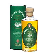 Sibona Grappa Riserva Botti da Madeira / 40 % Vol. / 0,5 Liter-Flasche in Geschenkdose
