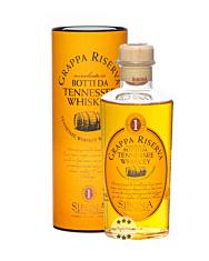 Sibona Grappa Riserva Botti da Tennessee Whiskey / 40 % Vol. / 0,5 Liter-Flasche in Geschenkdose