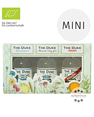 The Duke Gin Probierset Miniaturen-Set Bio / 42-47 % Vol. / 3 x 0,05 Liter-Flaschen in Geschenkbox