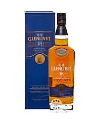 The Glenlivet 18 Jahre Single Malt Scotch Whisky / 40 % Vol. / 0,7 Liter-Flasche in Karton
