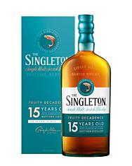 The Singleton of Dufftown 15 Years Single Malt Scotch Whisky / 40 % Vol. / 0,7 Liter-Flasche