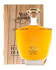 Villa de Varda Grappa Stravecchia Nonno Giovanni Alta Selezione / 40% Vol. / 0,7 Liter-Flasche in Schatulle aus Weidenholz