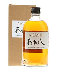 White Oak Akashi Japanese Blended Whisky / 40 % Vol. / 0,5 Liter-Flasche in Karton