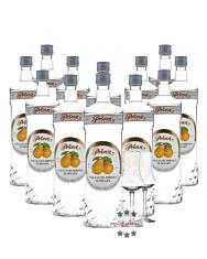 12 x Prinz Williams-Birnen Schnaps / 40 % Vol. / 12 x 1,0 Liter-Flasche + 2 x gratis mySpirits-Schnapskelch