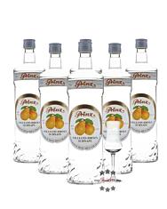 6 x Prinz Williams-Birnen Schnaps / 40 % Vol. / 6 x 1,0 Liter-Flasche + 1 x gratis mySpirits-Schnapskelch