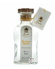 Ziegler Quittenbrand - Edelbrand aus Quitten / 43 % vol. / 0,35 Liter-Flasche