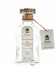 Ziegler Sauerkirsch & Wildsauerkirsch Brand - Obst Edelbrand aus Sauerkirschen und wilder Sauerkirsche / 43 % vol. / 0,35 Liter-Flasche