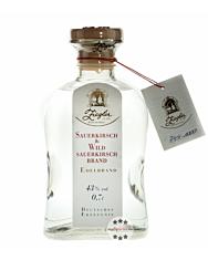 Ziegler Sauerkirsch & Wildsauerkirsch Brand - Obst Edelbrand aus Sauerkirschen und wilder Sauerkirsche / 43 % vol. / 0,7 Liter-Flasche