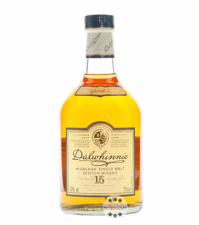 Dalwhinnie 15 Years Highland Single Malt Scotch...
