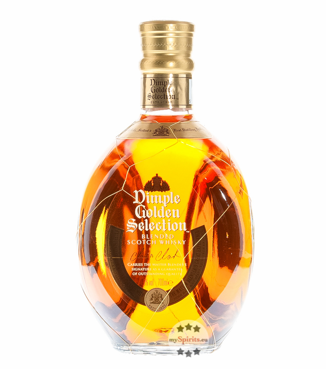Dimple Golden Selection Blended Scotch Whisky /...