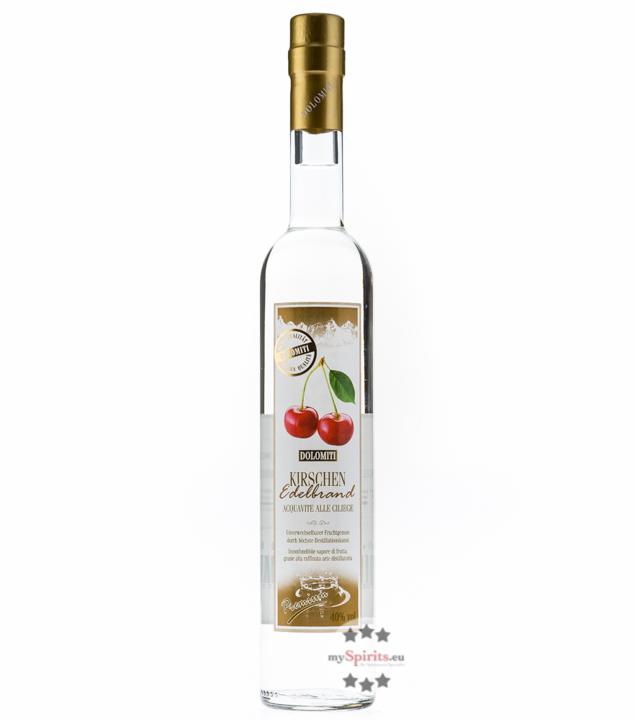 Dolomiti: Kirschen Edelbrand Premium / 40% Vol. / 0,5 Liter - Flasche