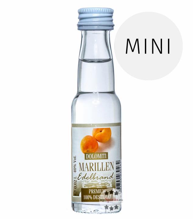 Dolomiti: Marillen Edelbrand / 40% Vol. / 0,02 Liter - Flasche