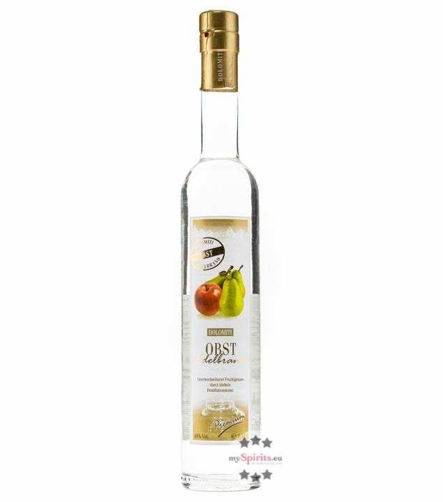 Dolomiti: Obst Edelbrand / 40% Vol. / 0,5 Liter