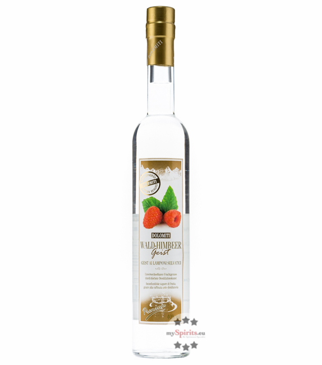 Dolomiti: Waldhimbeer Geist / 40% Vol. / 0,5 Liter