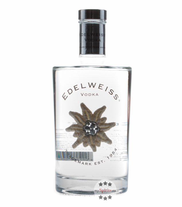 Edelweiss Vodka the e Vodka / 40 % Vol. / 0,7 Liter-Flasche