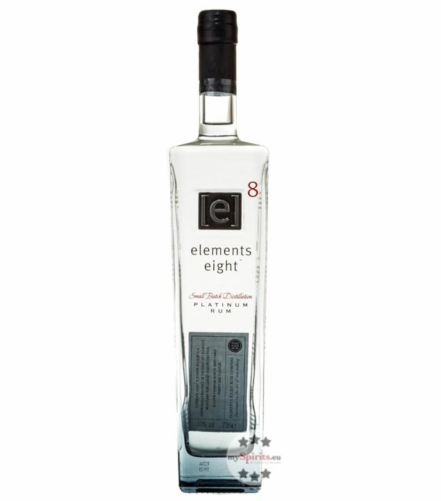 Elements Eight [e]8 Platinum Rum Rum aus St. Lucia / 40 % Vol. / 0,7 Liter-Flasche