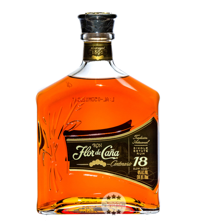 Centenario Gold Rum 18 Jahre / 40 % Vol. / 0,7 Liter-Flasche in Geschenkkarton