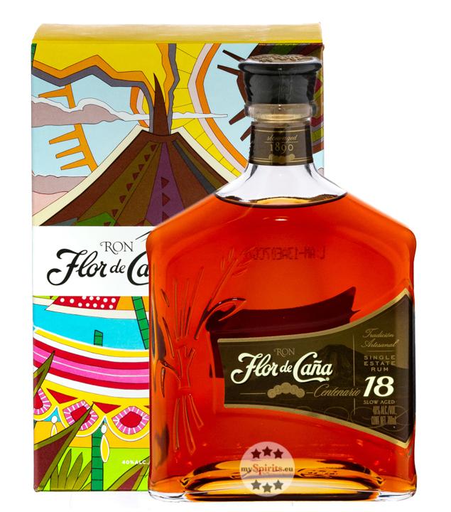 Centenario Gold Rum 18 Jahre Legacy Edition / 40 % Vol. / 0,7 Liter-Flasche in Geschenkkarton