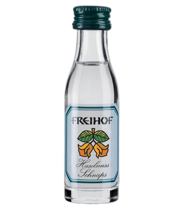 Freihof: Alt Lustenau Haselnuss-Schnaps / 38% Vol. / 0,02 Liter