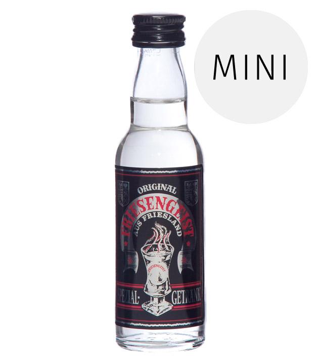 Behn: Original Friesengeist Likör Miniatur / 56 % Vol. / 0,04 Liter-Flasche
