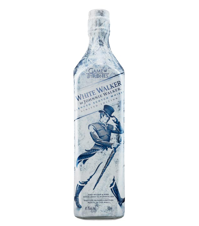 Game of Thrones Whisky White Walker Blended Scotch Whisky / 41,7 % Vol. / 0,7 Liter-Flasche