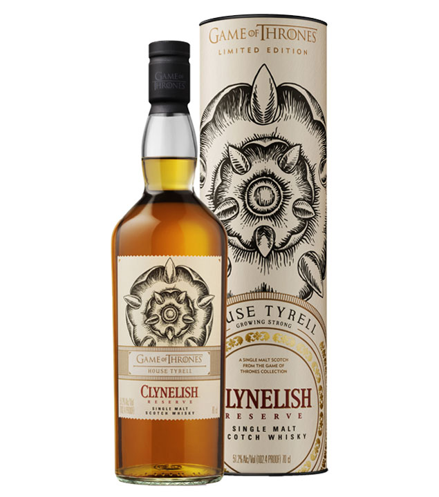 Game of Thrones Whisky House Tyrell Reserve / 51,2 % Vol. / 0,7 Liter-Flasche in Geschenkdose