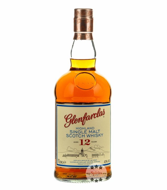 Glenfarclas 12 Jahre Highland Single Malt Scotc...