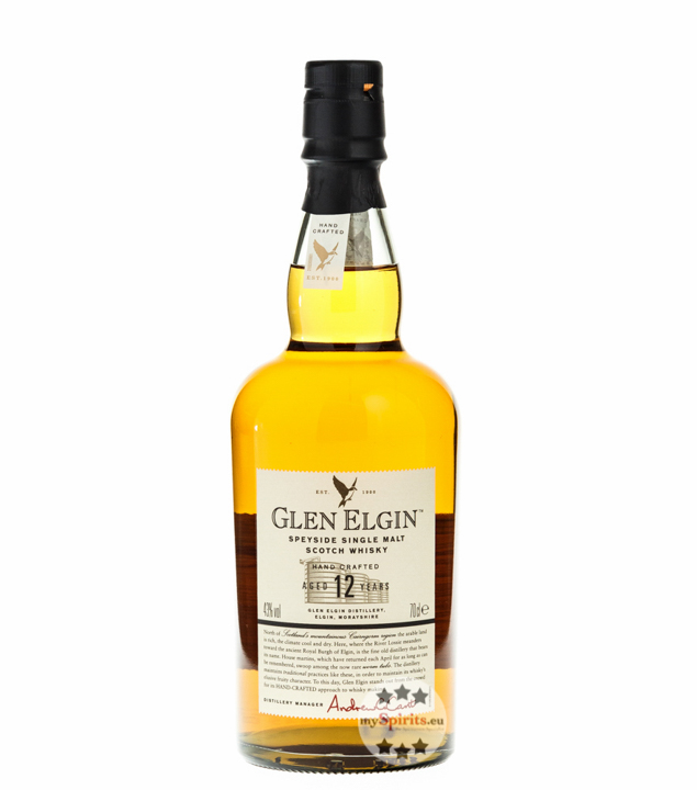 Glen Elgin 12 Jahre Speyside Single Malt Scotch...