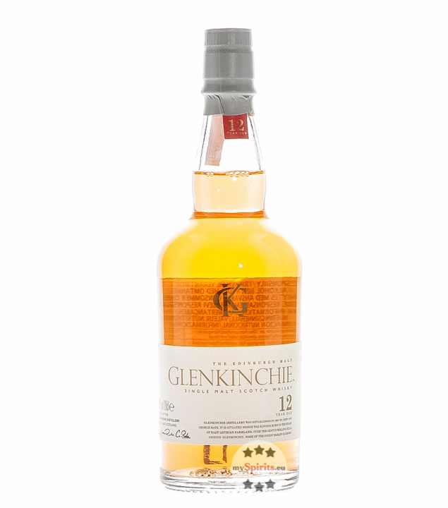 Glenkinchie 12 Years Old Single Malt Scotch Whi...