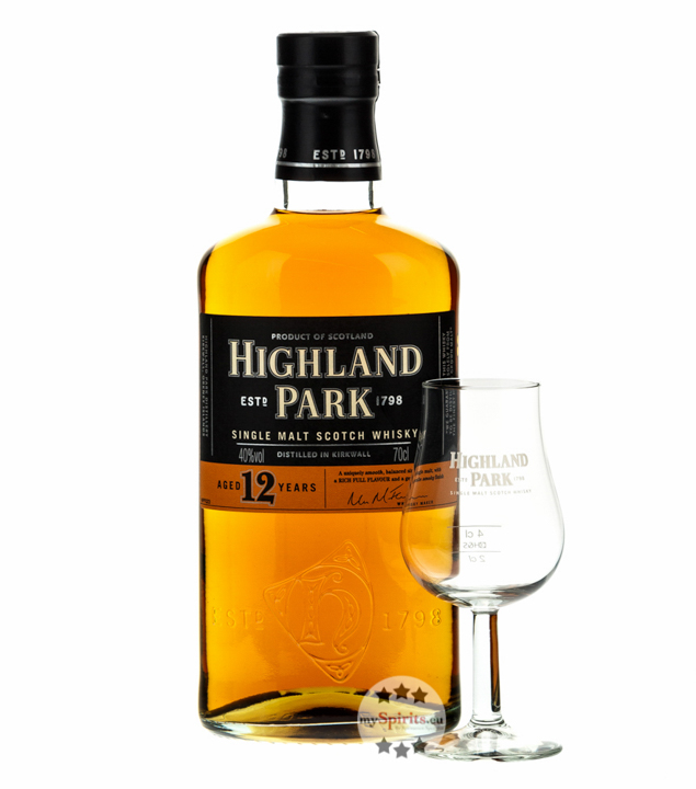 Highland Park 12 Jahre Whisky Geschenkbox inkl....
