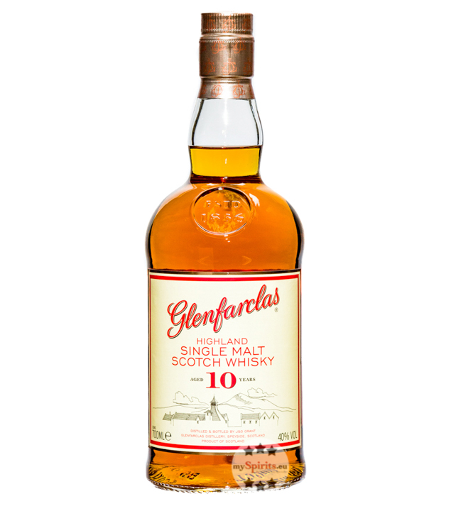 Glenfarclas 10 Jahre Highland Single Malt Scotc...