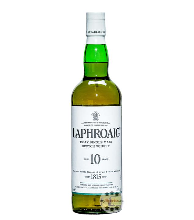 Laphroaig 10 Single Malt Whisky / 40 % Vol. / 0...