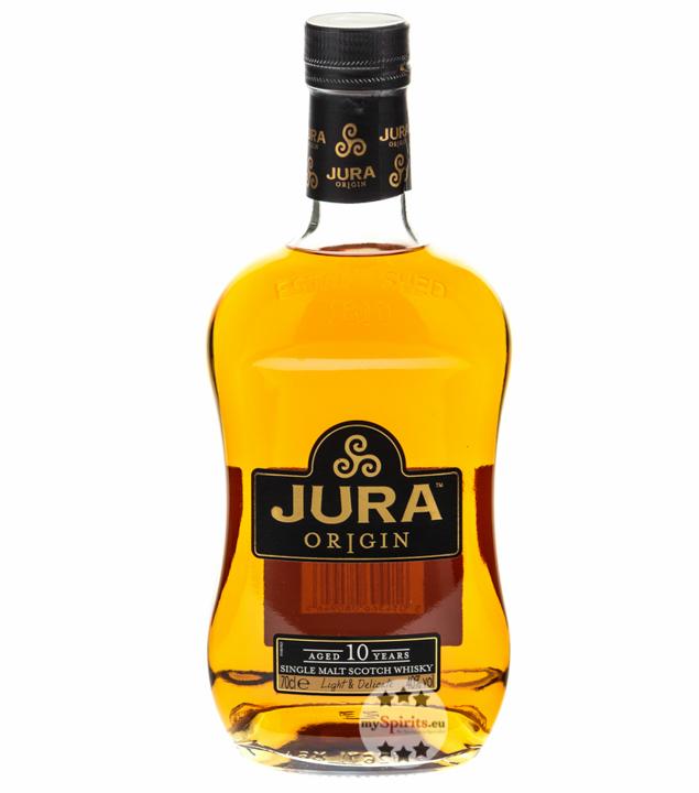 Jura 10 Jahre Origin Single Malt Scotch Whisky / 40 % Vol. / 0,7 Liter-Flasche in Karton