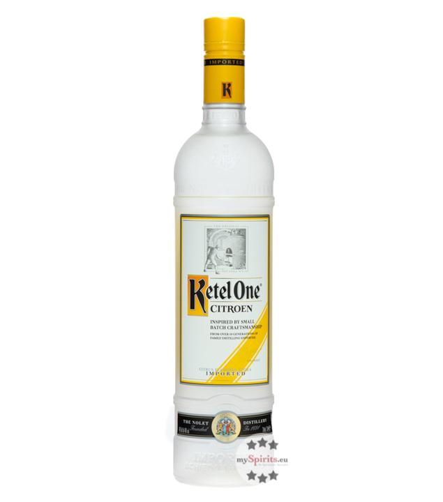 Citron Vodka / 40 % Vol. / 0,7 Liter-Flasche