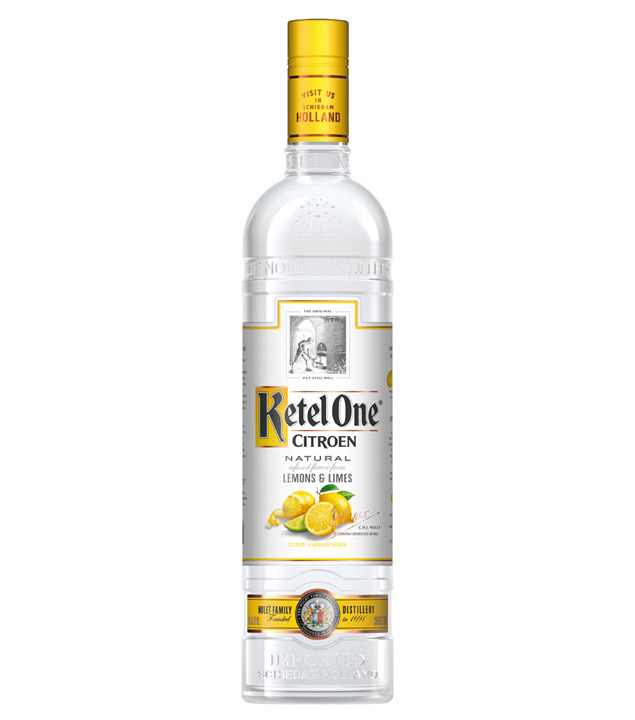 Citron Vodka / 40 % Vol. / 0,7 Liter-Flasche