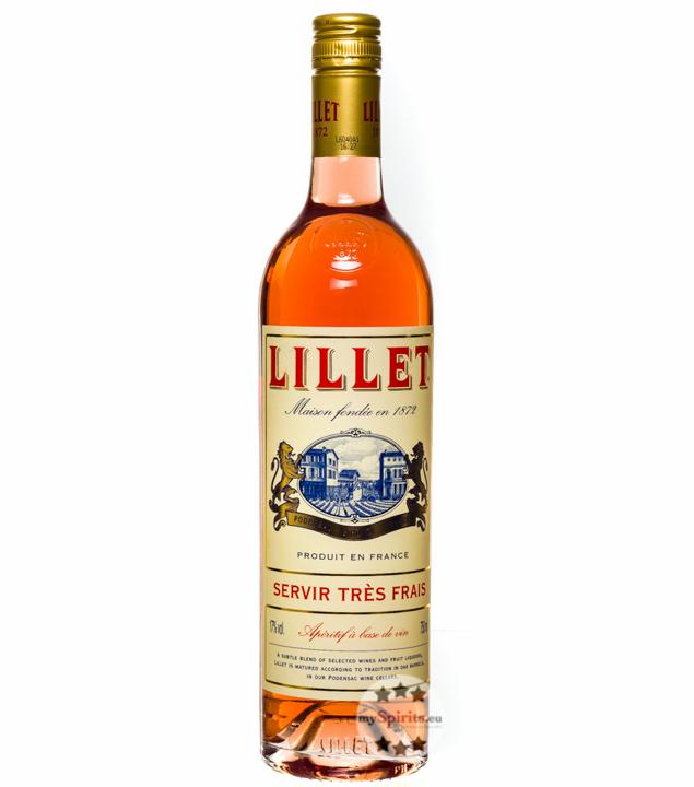 Lillet Rosé Weinaperitif / 17 % Vol. / 0,75 Lit...
